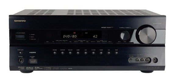 test av receiver onkyo tx sr607 sehr gut. Black Bedroom Furniture Sets. Home Design Ideas