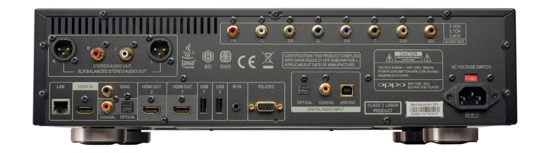 Blu-ray-Player Oppo BDP-105D im Test, Bild 2