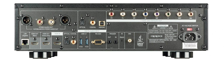 Blu-ray-Player Oppo UDP-205 im Test, Bild 3