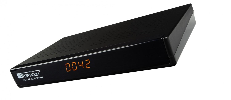 Sat Receiver ohne Festplatte Opticum HD AX 600 TWIN im Test, Bild 1