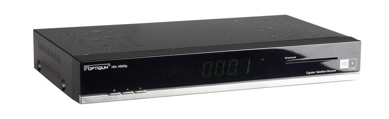 Sat Receiver ohne Festplatte Opticum HD+X500p im Test, Bild 1