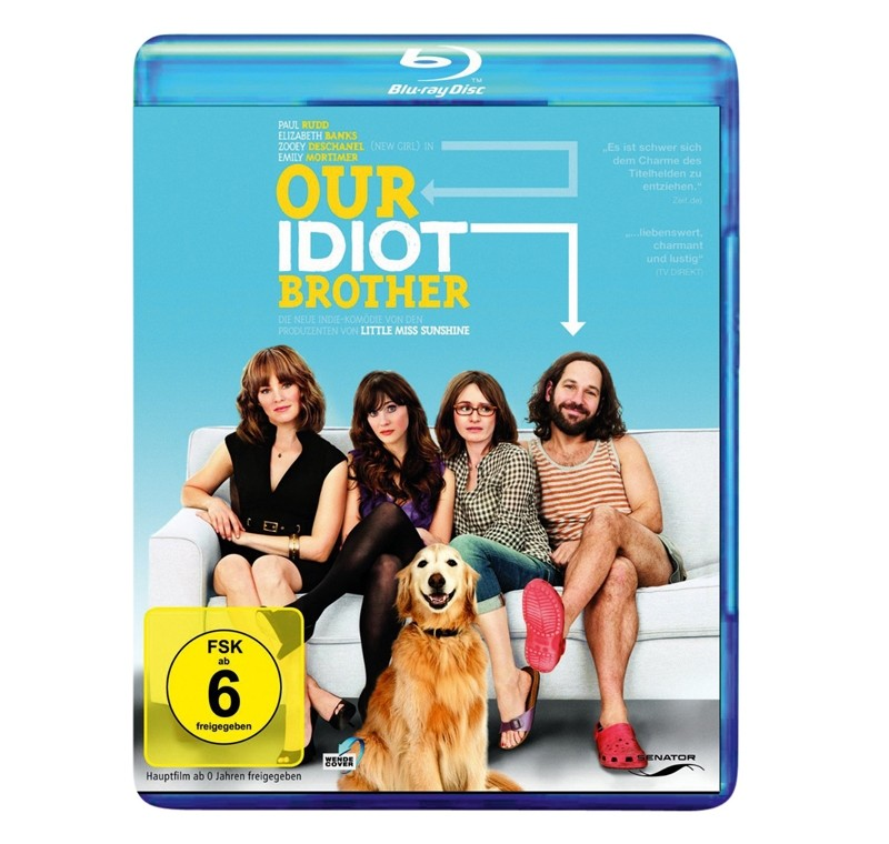 Blu-ray Film Our Idiot Brother (Senator) im Test, Bild 1