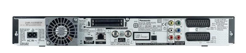 DVD-Rekorder Panasonic DMR-XS350 im Test, Bild 2