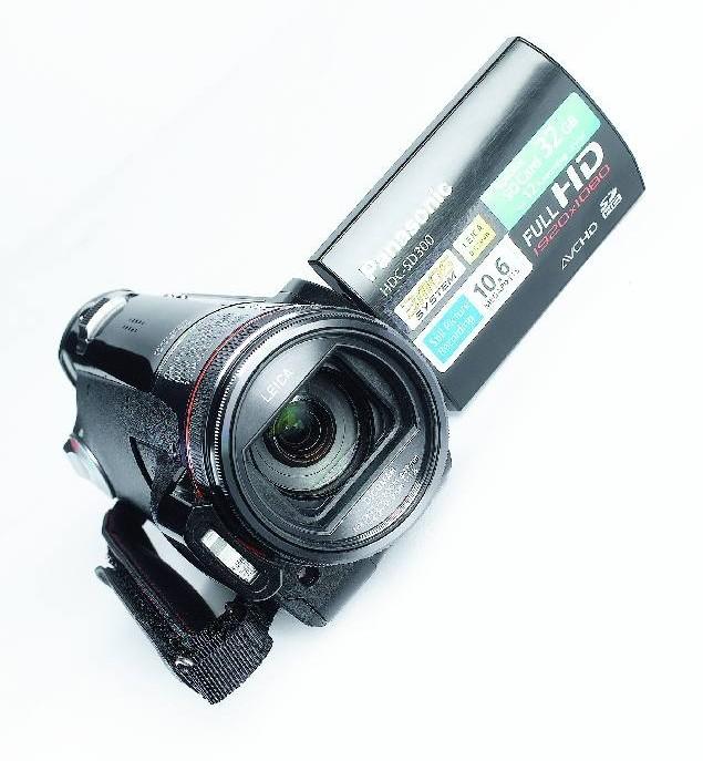 test camcorder panasonic hdc sd300 sehr gut seite 1. Black Bedroom Furniture Sets. Home Design Ideas