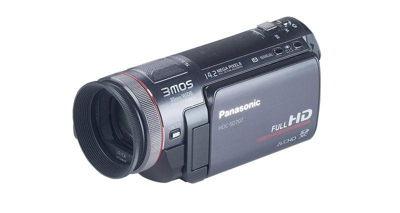 Camcorder Panasonic HDC-SD707 im Test, Bild 12