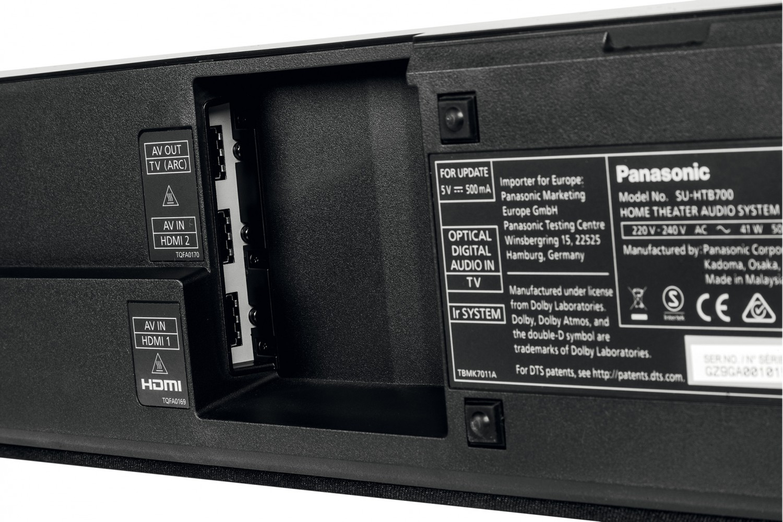 Soundbar Panasonic SC-HTB700 im Test, Bild 5