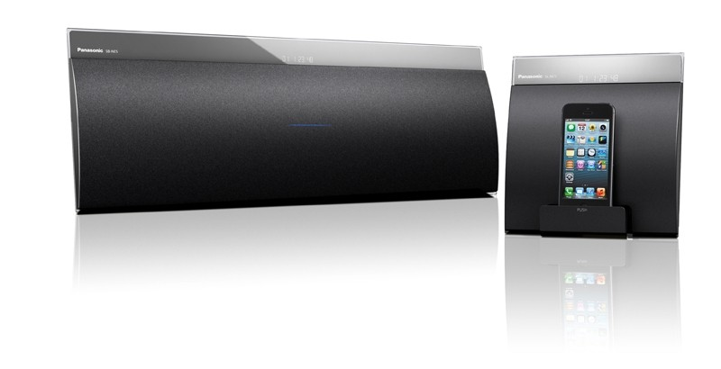 AirPlay-Speakersystem Panasonic SC-NE5 im Test, Bild 1