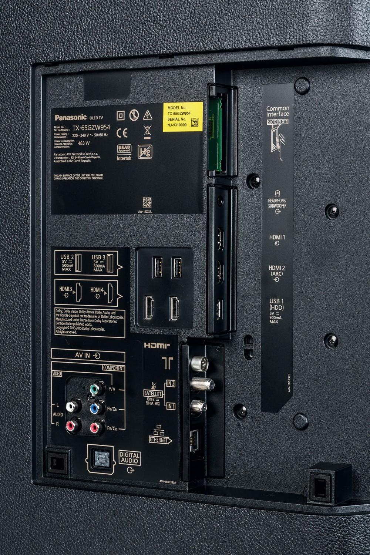 Fernseher Panasonic TX-65GZW954 im Test, Bild 2
