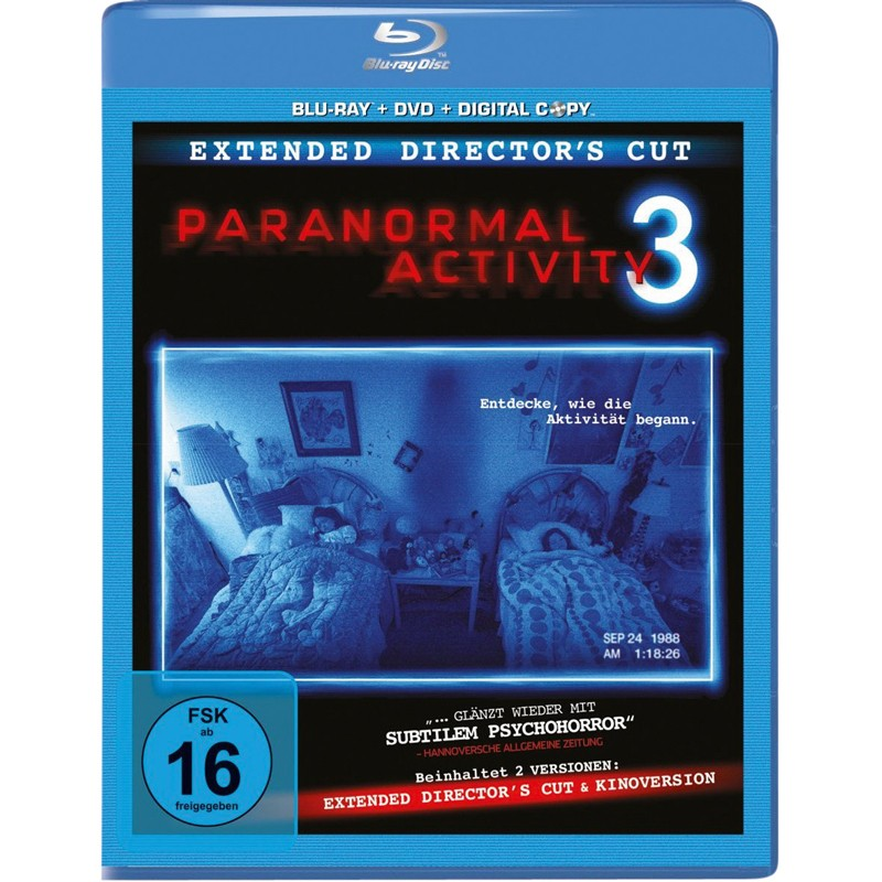 Blu-ray Film Paranormal Activity 3 (Paramount) im Test, Bild 1