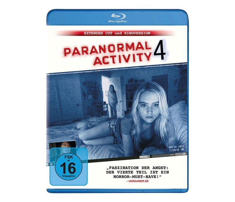 Blu-ray Film Paranormal Activity 4 (Paramount) im Test, Bild 1