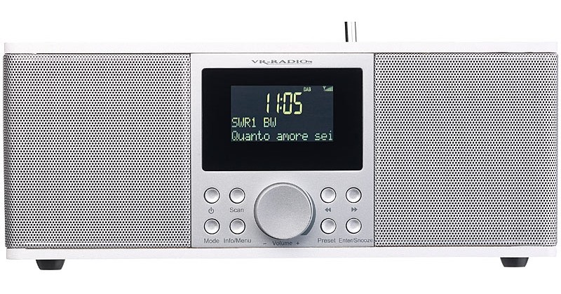 DAB+ Radio Pearl VR-Radio DOR-500 im Test, Bild 2