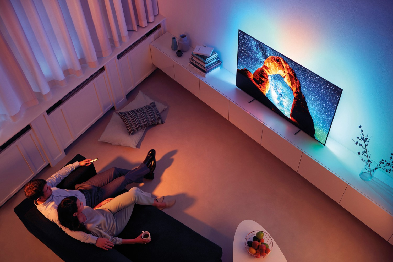 Fernseher Philips 55OLED803 im Test, Bild 3