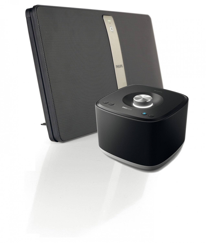 Wireless Music System Philips izzy Musiksystem BM50, Philips izzy Musiksystem BM5 im Test , Bild 1