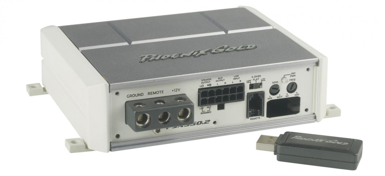 Car-HiFi Endstufe 2-Kanal Phoenix Gold PSX350.2 im Test, Bild 3