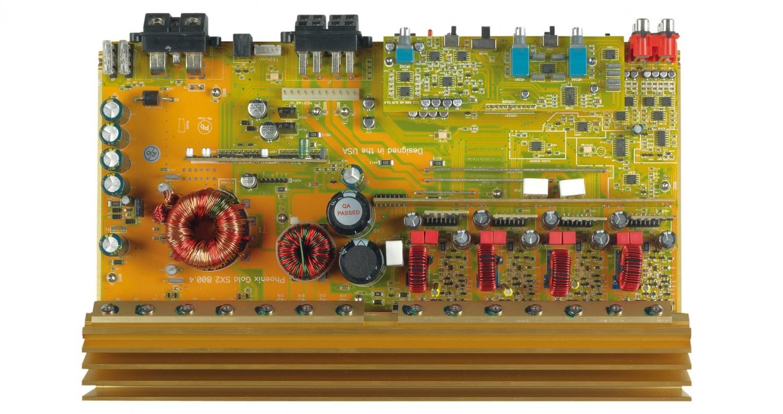 Car-HiFi Endstufe 4-Kanal Phoenix Gold SX2800.4 im Test, Bild 28