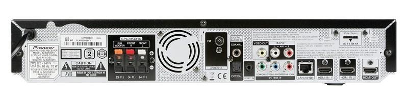 Blu-ray-Anlagen Pioneer BCS-FS500 im Test, Bild 6
