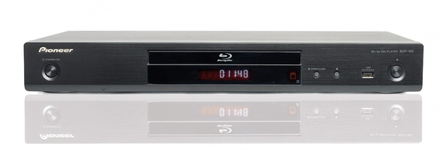 Blu-ray-Player Pioneer BDP-160 im Test, Bild 1