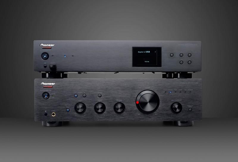 DLNA- / Netzwerk- Clients / Server / Player Pioneer N-50 Phonosophie T-Serie, Pioneer A-30 Phonosophie T-Serie im Test , Bild 1