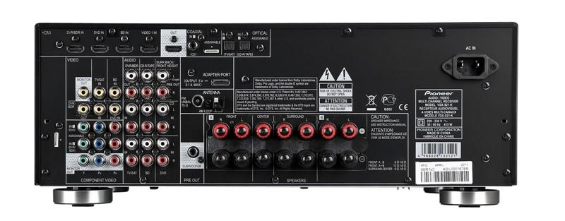AV-Receiver Pioneer VSX-821 im Test, Bild 2