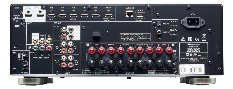 AV-Receiver Pioneer VSX-924 im Test, Bild 3