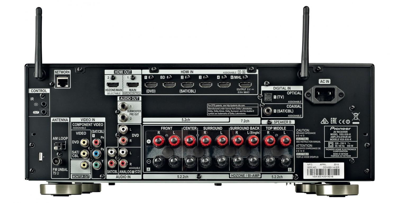 AV-Receiver Pioneer VSX-930 im Test, Bild 4