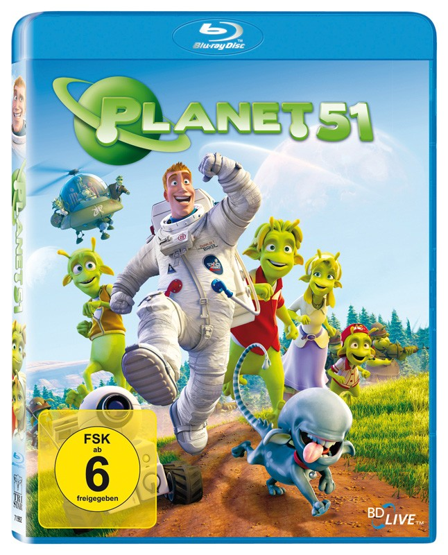Blu-ray Film Planet 51 (Sony Pictures) im Test, Bild 1