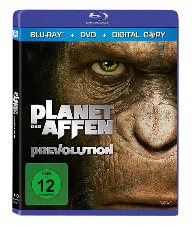 Blu-ray Film Planet der Affen Prevolution (Fox) im Test, Bild 1