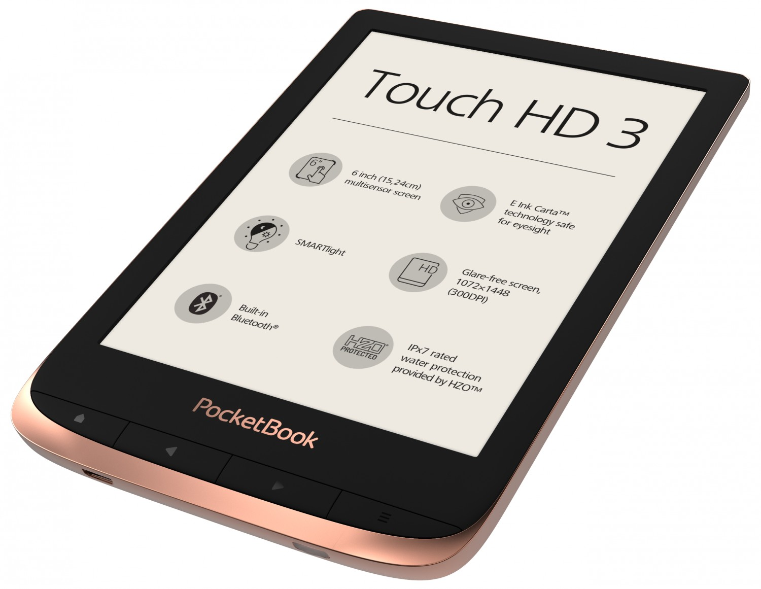 E-Book Reader Pocketbook Touch HD 3 im Test, Bild 1