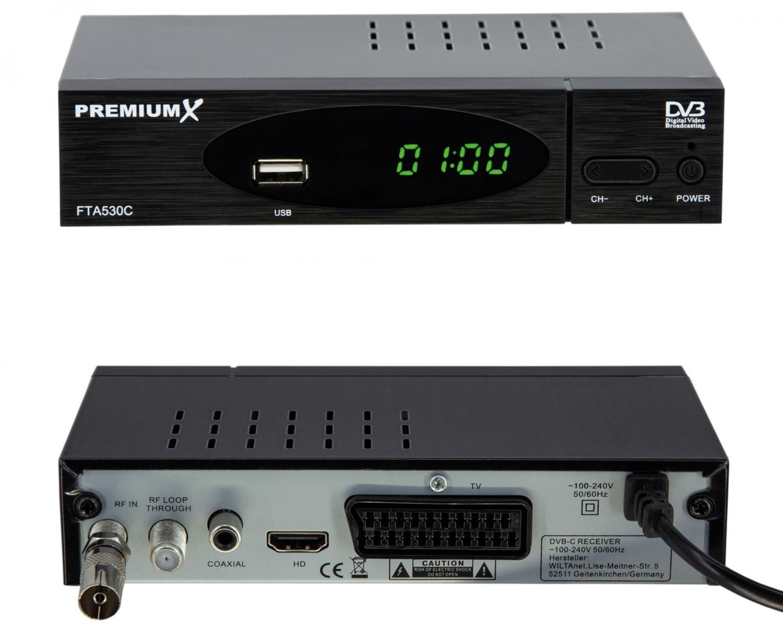 Sat Receiver ohne Festplatte PremiumX FTA530C im Test, Bild 3