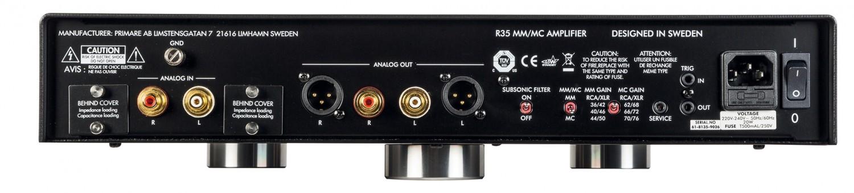 Phono Vorstufen Primare R-35 im Test, Bild 4