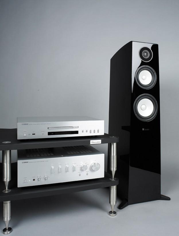 test vollverst rker cd player lautsprecher stereo. Black Bedroom Furniture Sets. Home Design Ideas