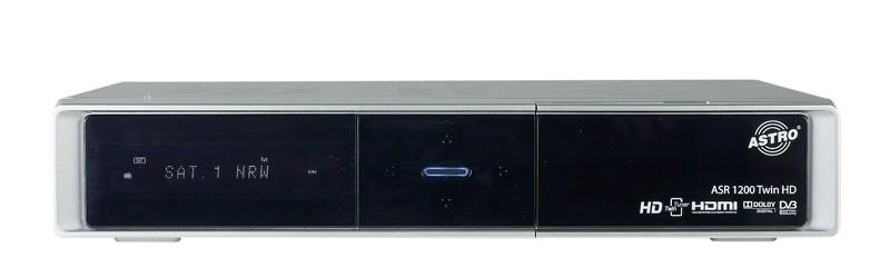 Sat Receiver ohne Festplatte Astro ASR 1200 Twin HD im Test, Bild 5