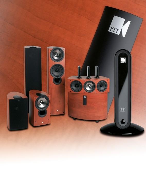 test lautsprecher surround kef iq serie wireless. Black Bedroom Furniture Sets. Home Design Ideas