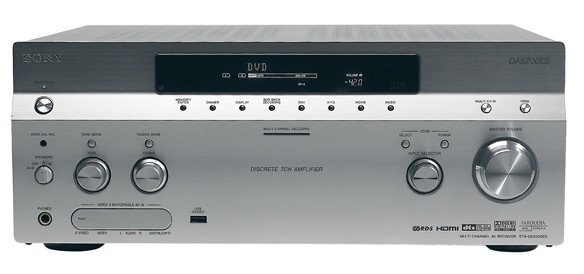 Test AV-Receiver - Sony STR-DA5200ES