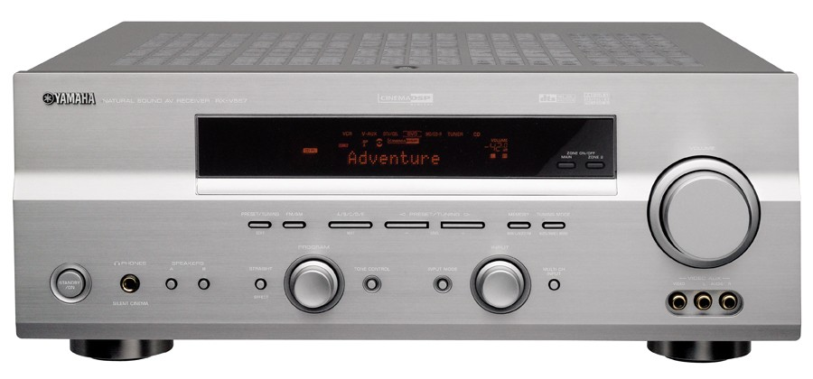 test av receiver yamaha rx v557 sehr gut. Black Bedroom Furniture Sets. Home Design Ideas