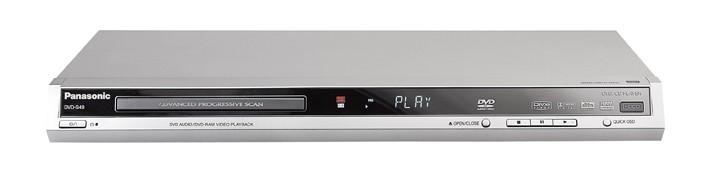 test dvd player panasonic dvd s49 sehr gut. Black Bedroom Furniture Sets. Home Design Ideas