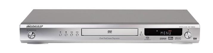 test dvd player pioneer dv 585 a s sehr gut. Black Bedroom Furniture Sets. Home Design Ideas