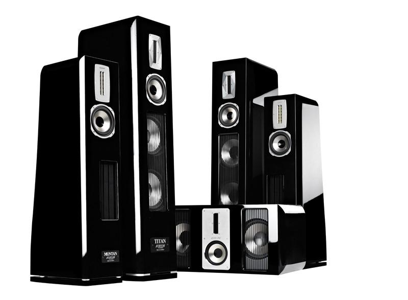 Lautsprecher Surround Quadral Aurum-Titan 5.0 im Test, Bild 1