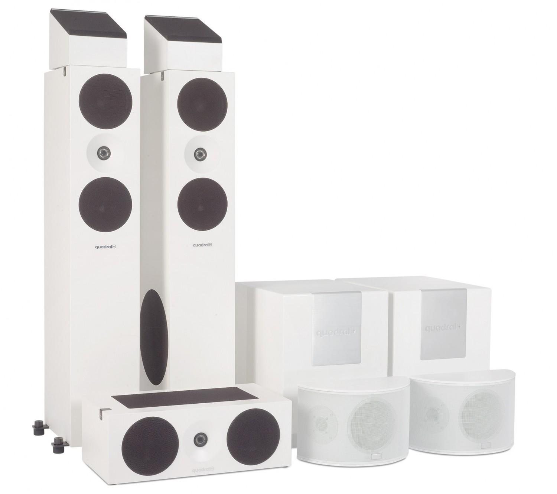 Lautsprecher Surround quadral Platinum+five-Set im Test, Bild 1