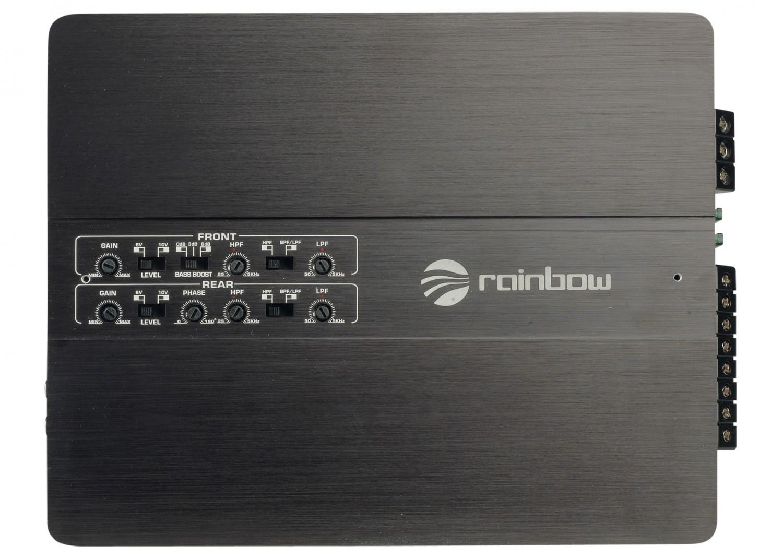 Car-HiFi Endstufe 4-Kanal Rainbow Beat 4 im Test, Bild 25