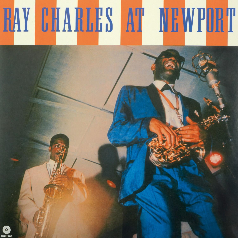 Schallplatte Ray Charles - At Newport (WaxTimeRecords) im Test, Bild 1