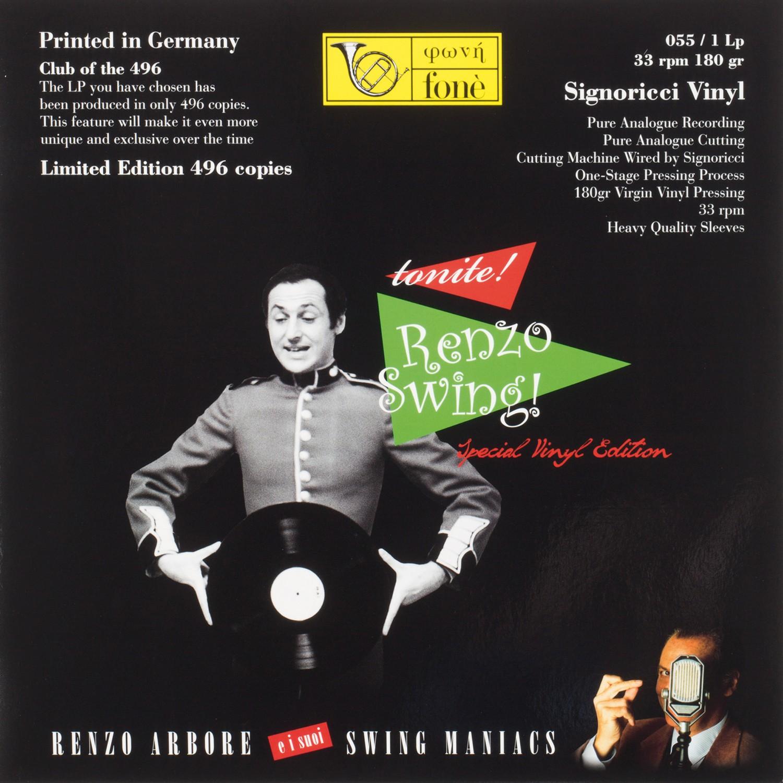 Schallplatte Renzo Arbore - Tonite! Renzo Swing! (Foné) im Test, Bild 1