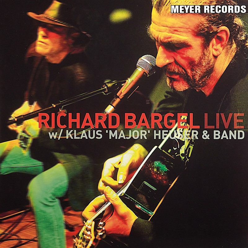 "Schallplatte Richard Bargel – w/ Klaus ""Major"" Heuser & Band (Meyer Records) im Test, Bild 1"