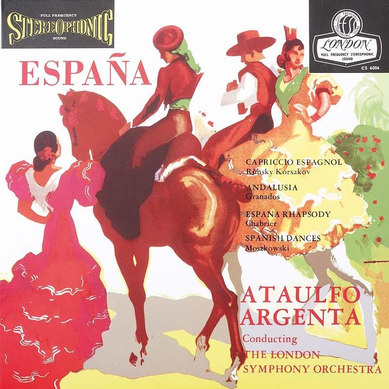 Schallplatte Rimsky Korsakov und andere – Espana – London Symphony Orchestra, Ataulfo Argenta (London) im Test, Bild 1