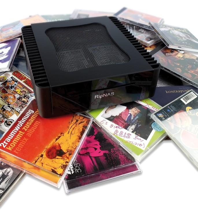 Musikserver Ripnas Server S640 im Test, Bild 1