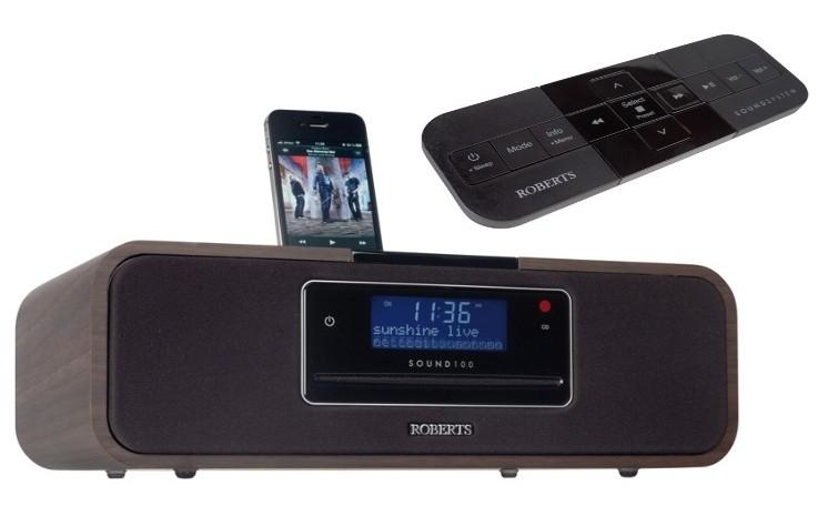 test dab radio roberts sound 100 sehr gut. Black Bedroom Furniture Sets. Home Design Ideas