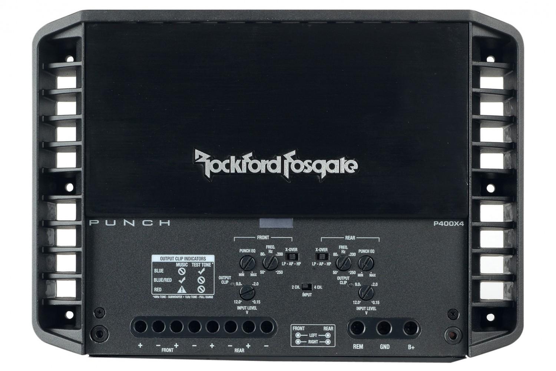 Car-HiFi Endstufe 4-Kanal Rockford Fosgate P400X4 im Test, Bild 34