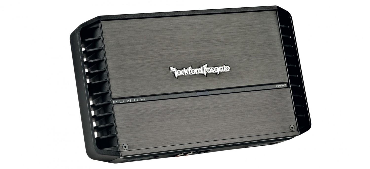 test car hifi endstufe 2 kanal rockford fosgate p500x2. Black Bedroom Furniture Sets. Home Design Ideas