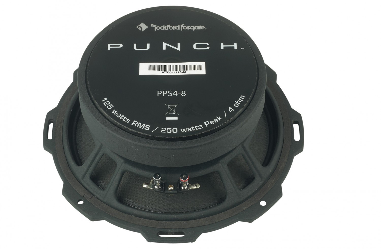 Car-HiFi Mitteltöner Rockford Fosgate Punch Pro PPS4-8 im Test, Bild 32