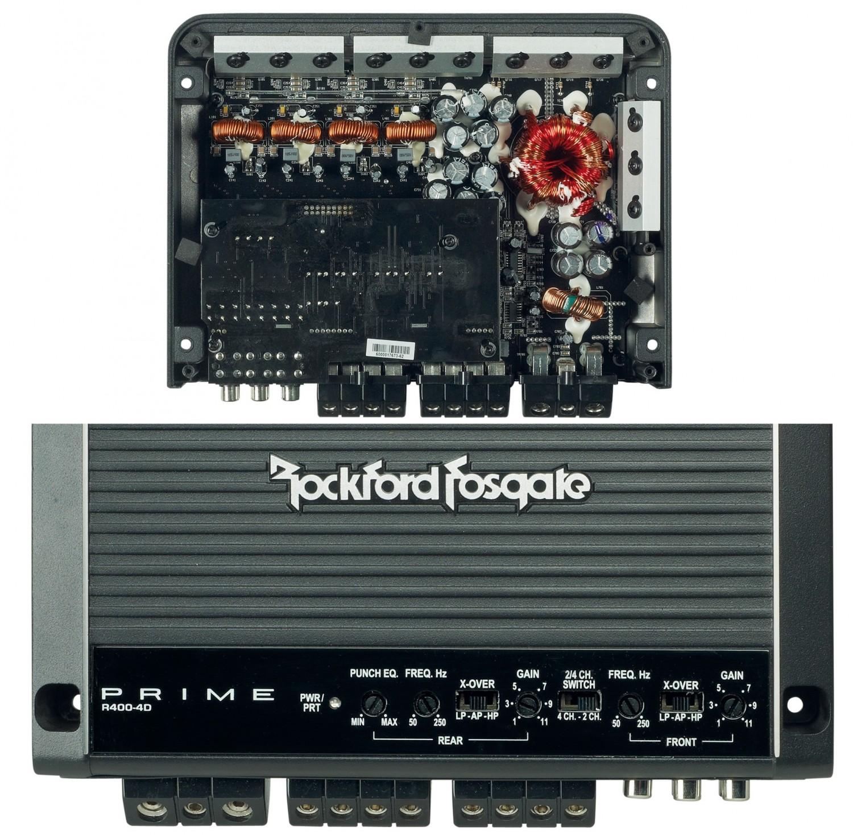 Car-HiFi Endstufe 4-Kanal Rockford Fosgate R400-4D im Test, Bild 19